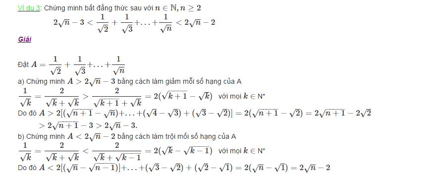 Các phương pháp chứng minh bất đẳng thức-1