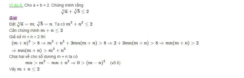 Các phương pháp chứng minh bất đẳng thức-4