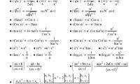 Định nghĩa đạo hàm và các công thức dạo hàm