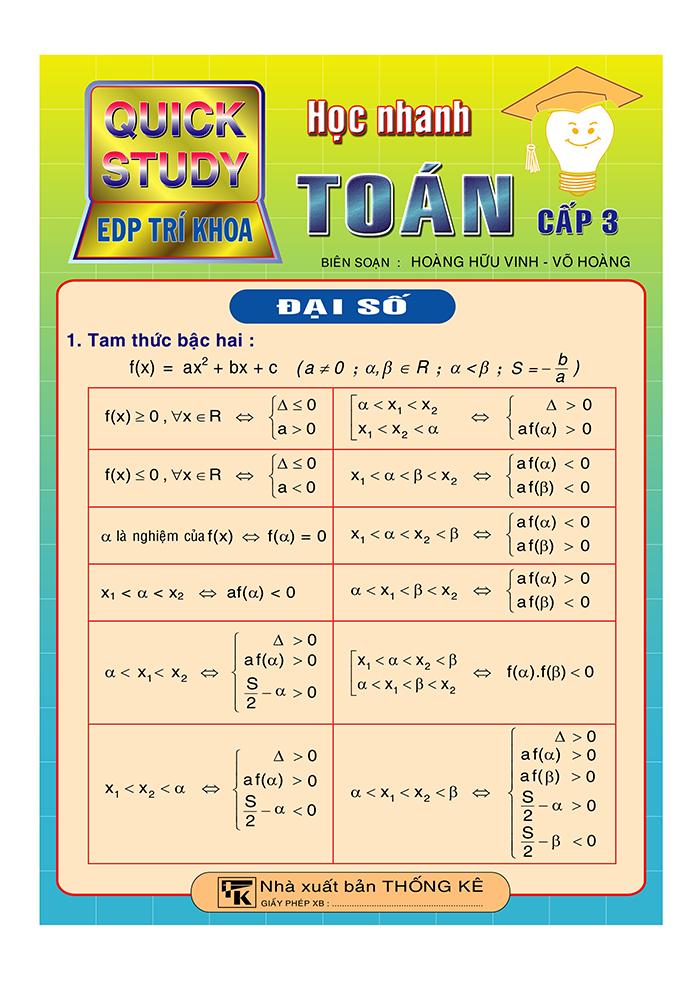 công thức toán cấp 3