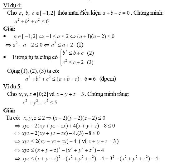 Chứng minh bất đẳng thức bằng phương pháp biến đổi tương đương-5
