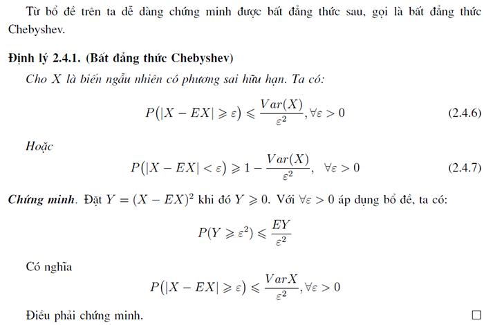 Chứng minh bất đẳng thức Chebyshev -1