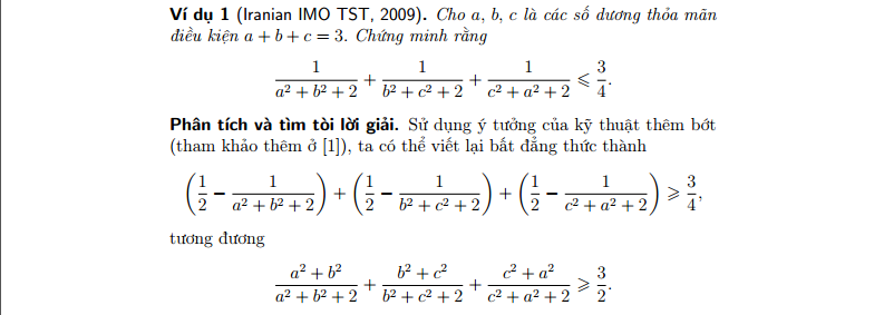 Một kỹ thuật nhỏ để sử dụng bất đẳng thức Cauchy-Schwarz