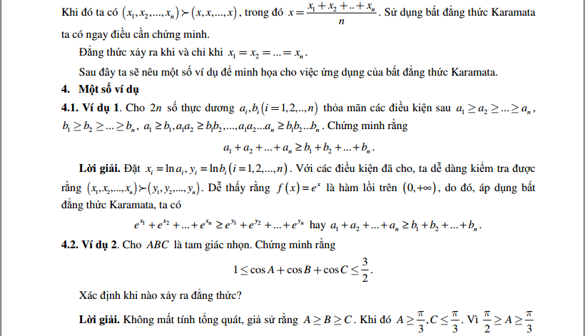 Tìm hiểu về bất đẳng thức Karamata - Cao Minh Quang-2