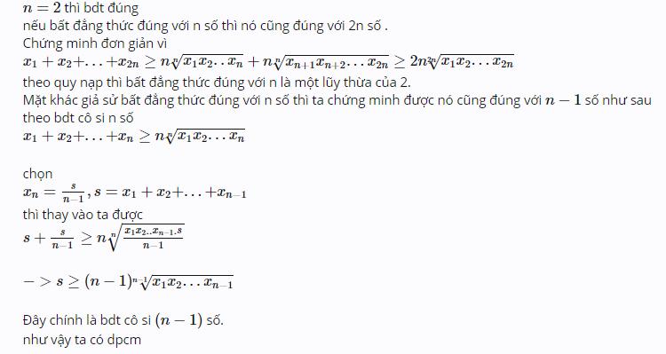 Tất tần tật về bất đẳng thức Cosi-2