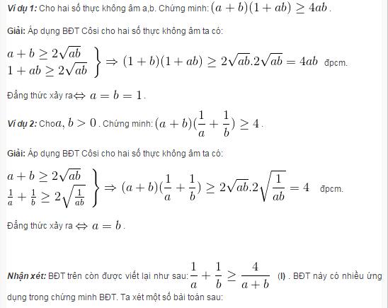 Tất tần tật về bất đẳng thức Cosi-3