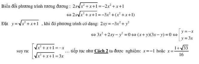 5 kĩ thuật giải phương trình vô tỉ hay dùng-4