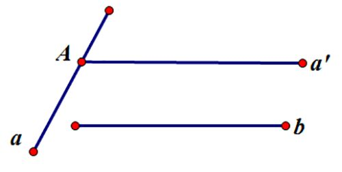 Cách xác định góc giữa hai đường thẳng trong không gian