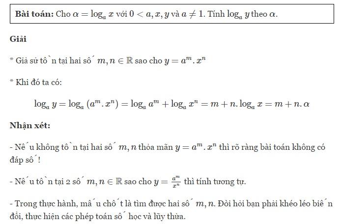Tổng hợp cách tính logarit của một số bất kỳ-1
