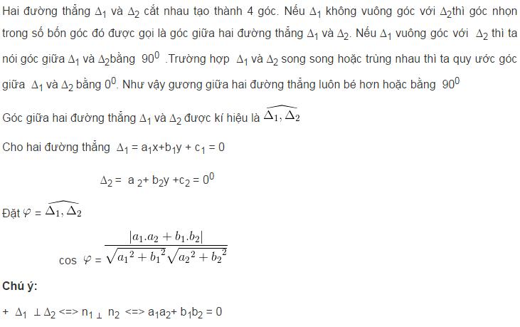 Lý thuyết phương trình đường thẳng-6