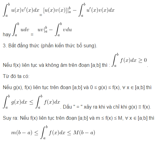 Lý thuyết tích phân-1