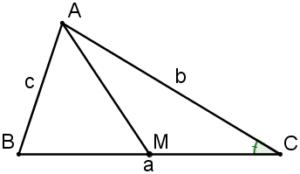 Áp dụng định lý Côsin trong tam giác vào giải Toán-2