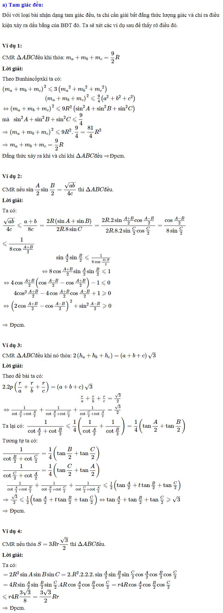 Áp dụng bất đẳng thức lượng giác vào giải một số bài toán-1