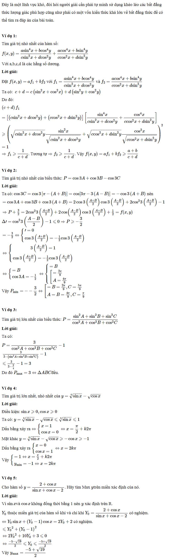 Áp dụng bất đẳng thức lượng giác vào giải một số bài toán-3