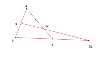 Cách chứng minh 3 điểm thẳng hàng bằng vectơ-2
