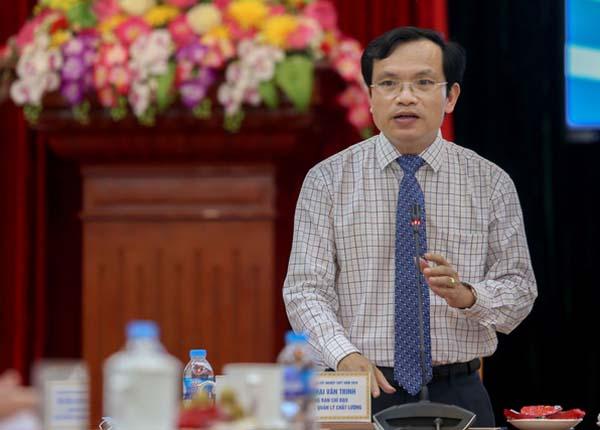 Cục trưởng Cục Quản lý chất lượng, Bộ GD&ĐT khẳng định, Bộ sẽ công bố đáp án theo tiến độ chấm thi